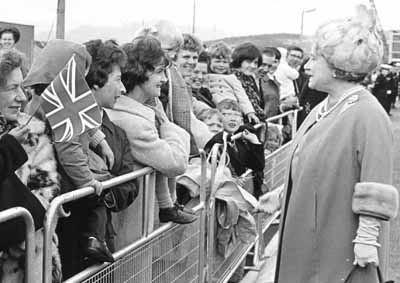 Royal Visit to Base